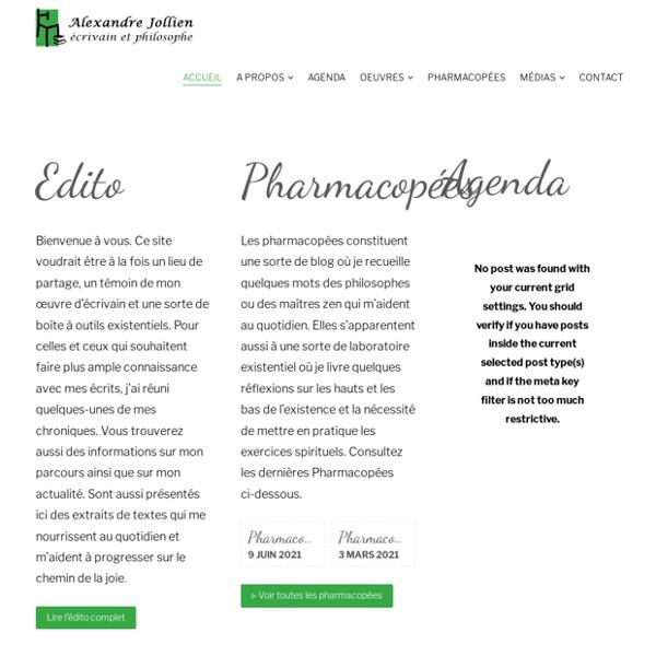Alexandre Jollien / Homme, écrivain et philosophe