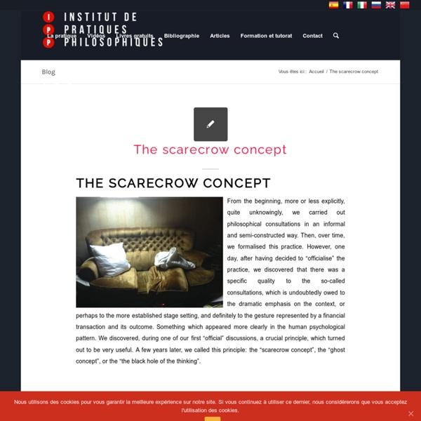 Institut de pratiques philosophiques – Oscar Brenifier, philosophe praticien