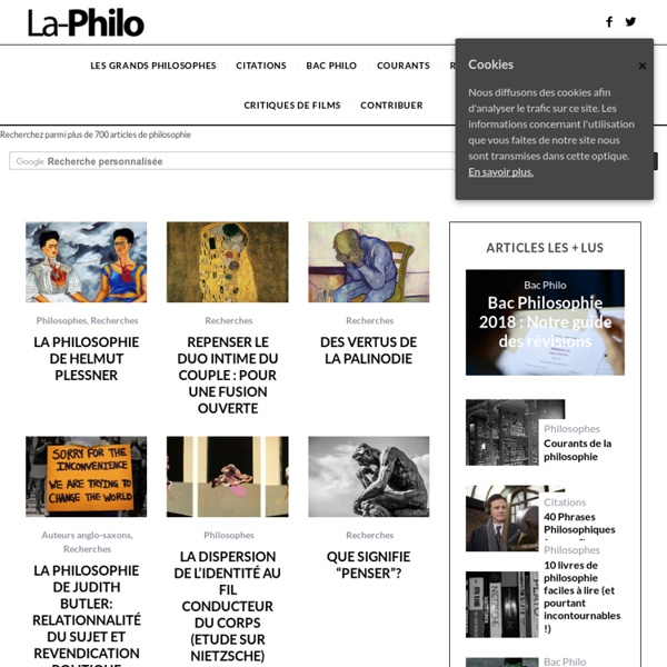 La-Philosophie.com : La-Philosophie.com & Citations