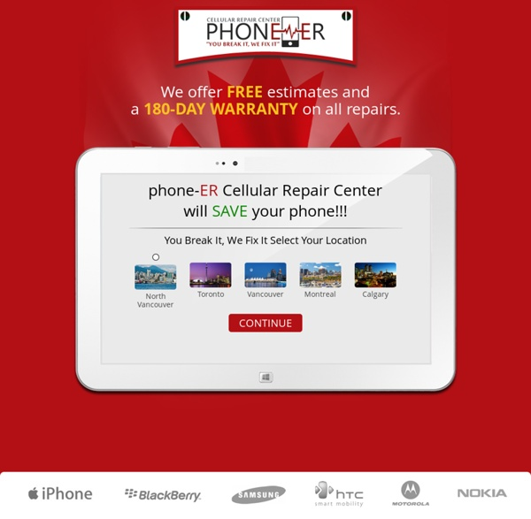 Cell Phone Repair Shop in Vancouver Canada by Phone-ER