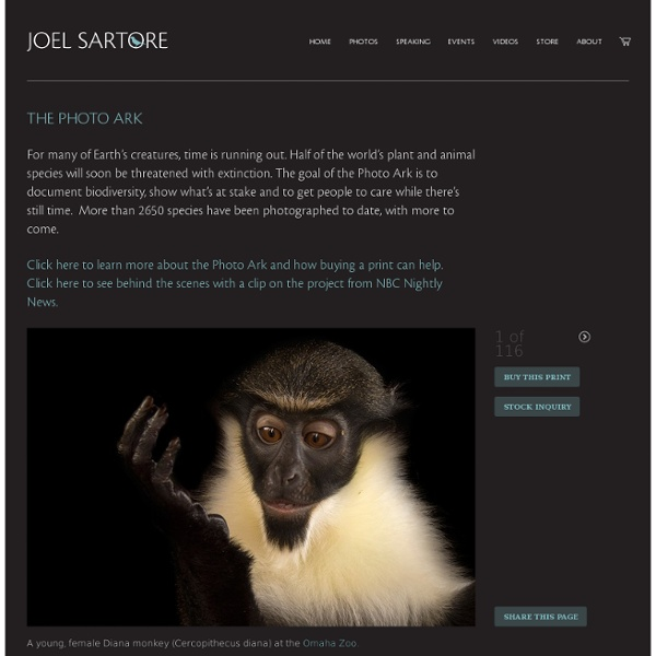 The Photo Ark - Joel Sartore