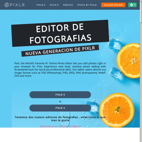 PIXLR Photo editor online