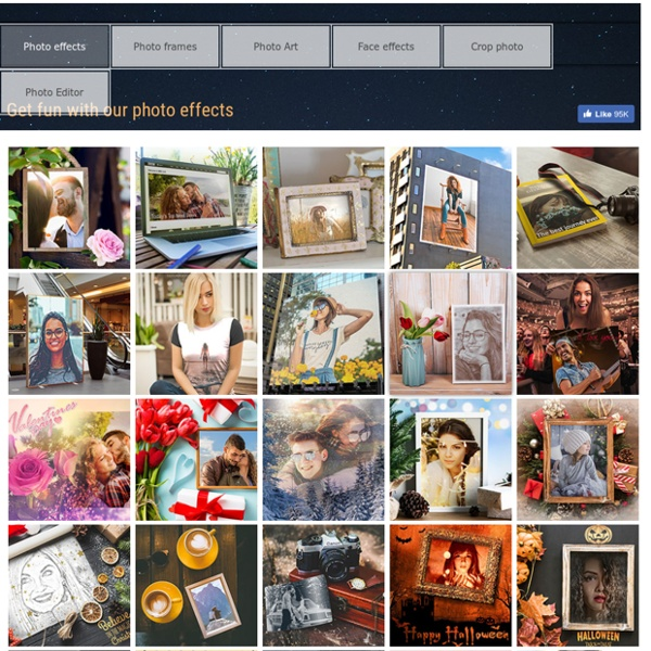 funny photo effects photo frames online on loonapix
