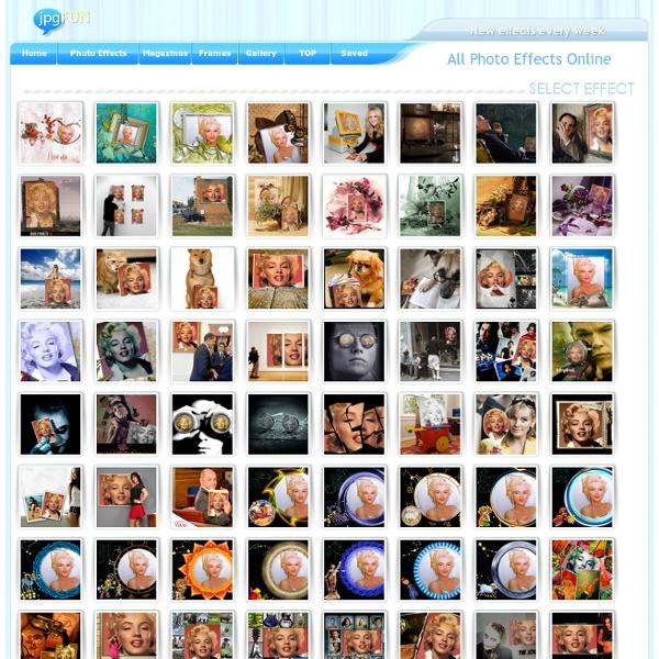Photo Effects Online - JPGfun.com
