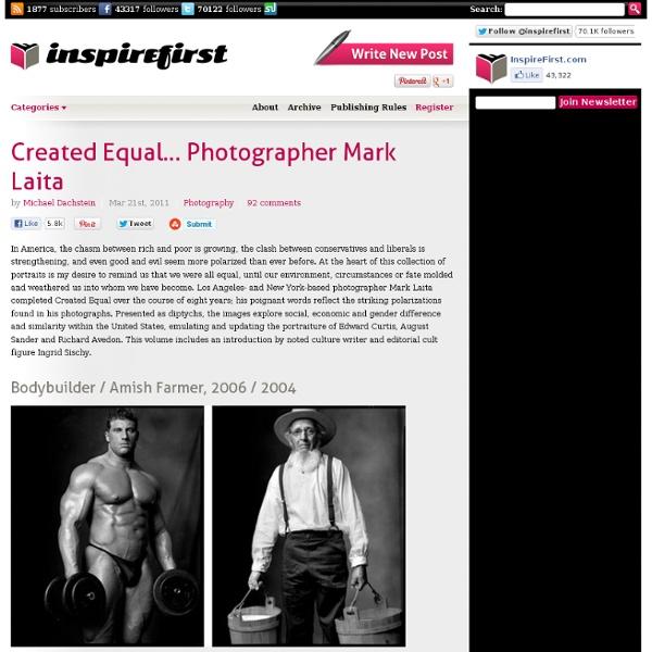 Created Equal... Photographer Mark Laita