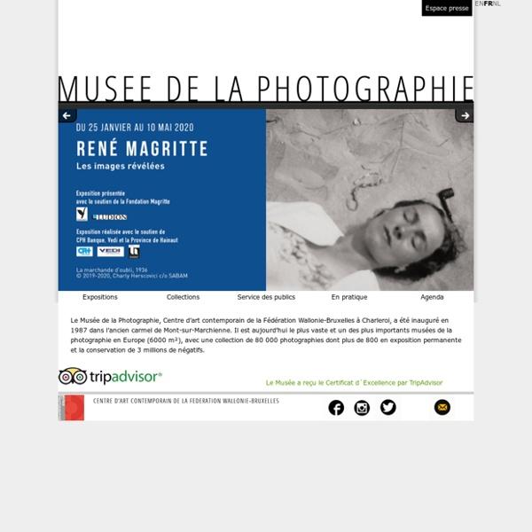 Musée de la Photographie à Charleroi - Accueil