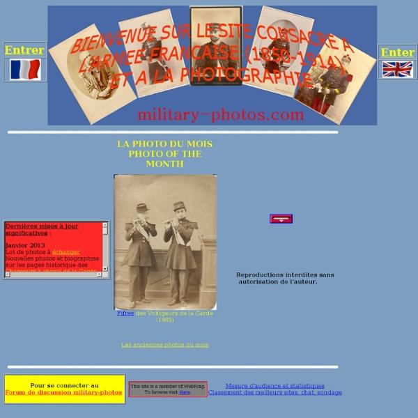 1850-1914, l'armée en photos