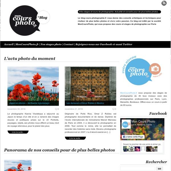 Cours photographie et stages photo partout en France