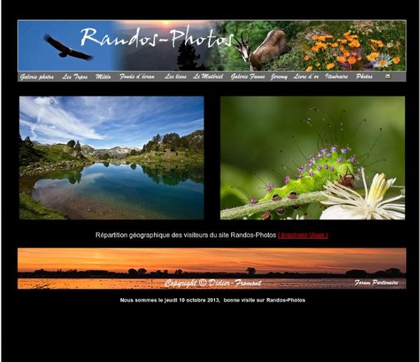 Randos-photos : photographies et randonnées, faune, fleurs, paysages, ventoux