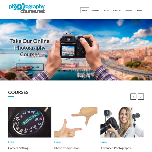 Free Digital Photography Courses, Photography Lessons, and Tutorials