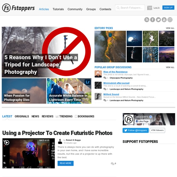 Fstoppers - Photography News and Community for Creative Professionals