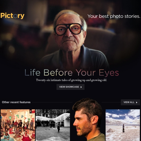 Your Best Photo Stories - Photojournalism and Social Documentary – Pictory
