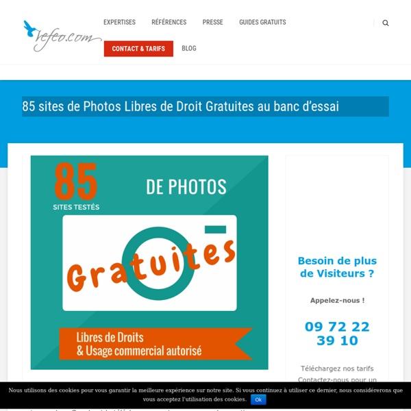 85 sites de Photos Libres de Droit Gratuites testés