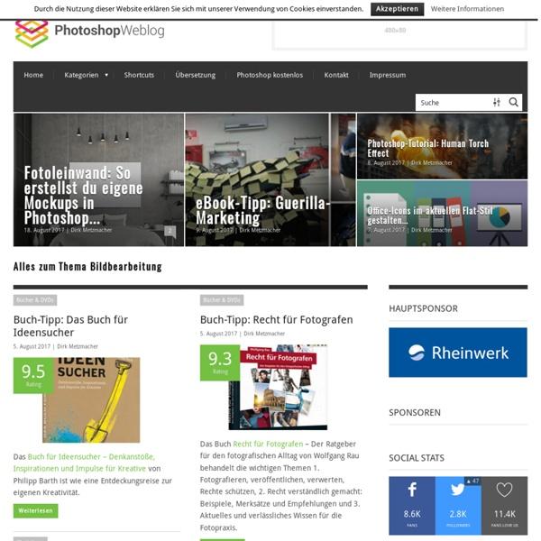 Photoshop-Weblog – Alles zum Thema Bildbearbeitung