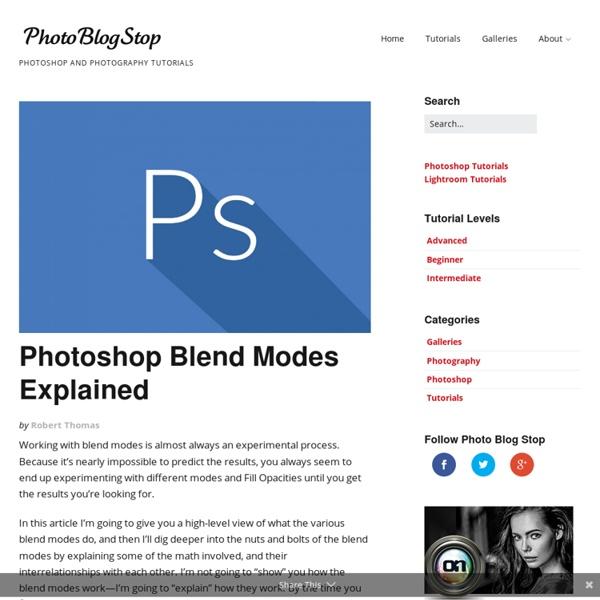 Photoshop Blend Modes Explained - Photo Blog Stop