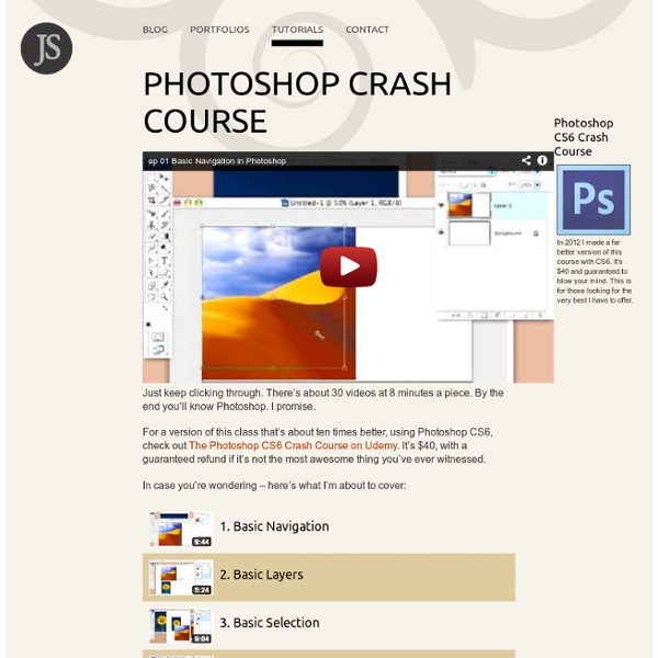 Photoshop Crash Course