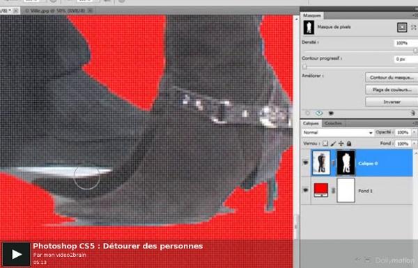 Photoshop CS5 : Détourer des personnes