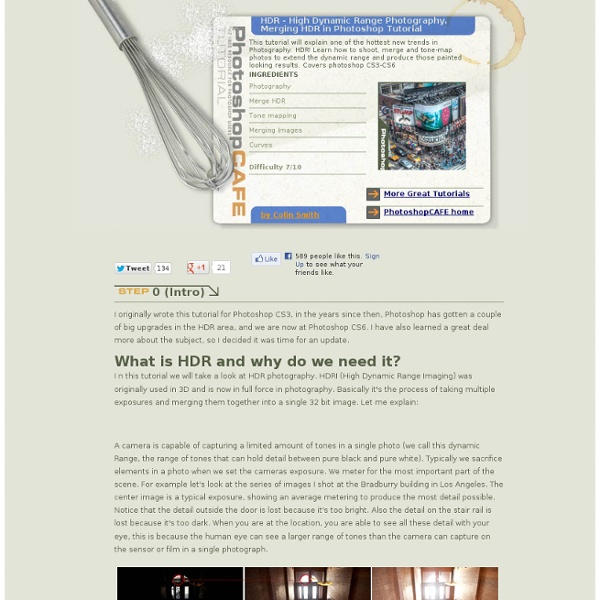 Photoshop HDR tutorial. hdri, High Dynamic Range Photography.