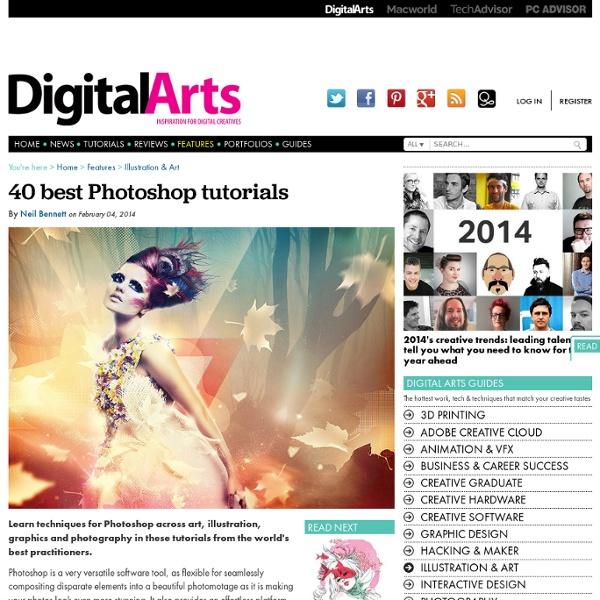 40 meilleurs tutoriaux Photoshop - Caractéristiques - Arts numériques