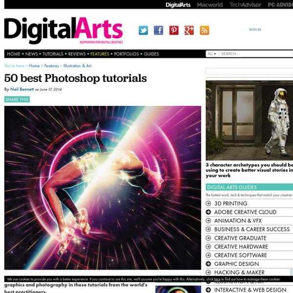 35 best Photoshop tutorials - Features