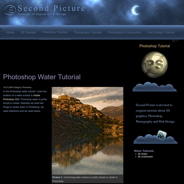 Photoshop Water Tutorial