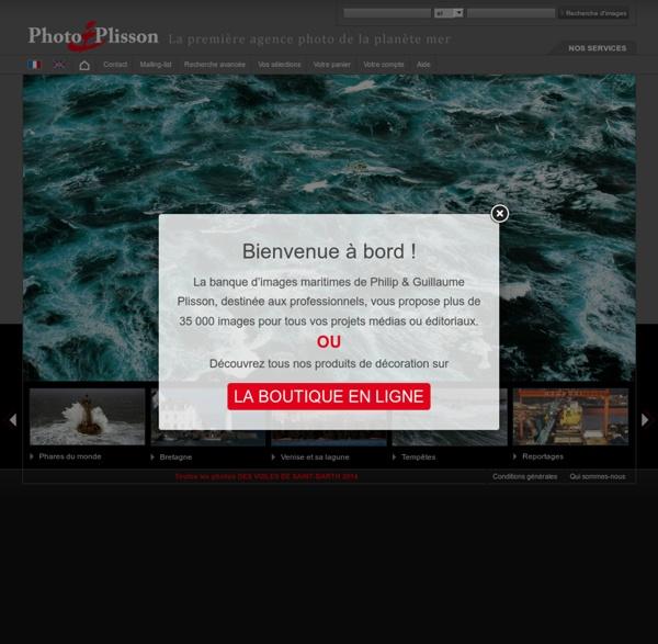 Philip Plisson photothèque agence photo de mer Bretagne en images tempêtes phares voile la France vue de la mer