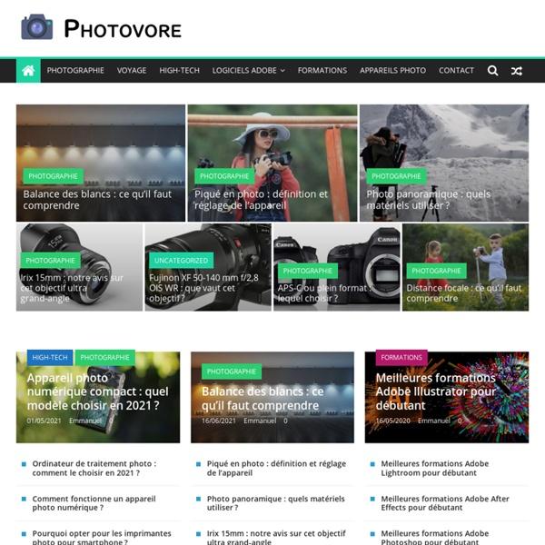 Webzine sur la photo numérique