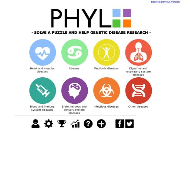 DNA Puzzles - Jeu pour aider les chercheurs
