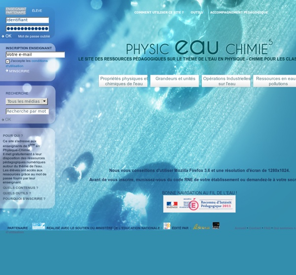 Physic-Eau-Chimie 5