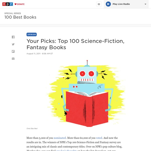 Your Picks: Top 100 Science-Fiction, Fantasy Books
