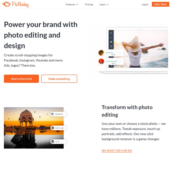 PicMonkey: Free Online Photo Editing