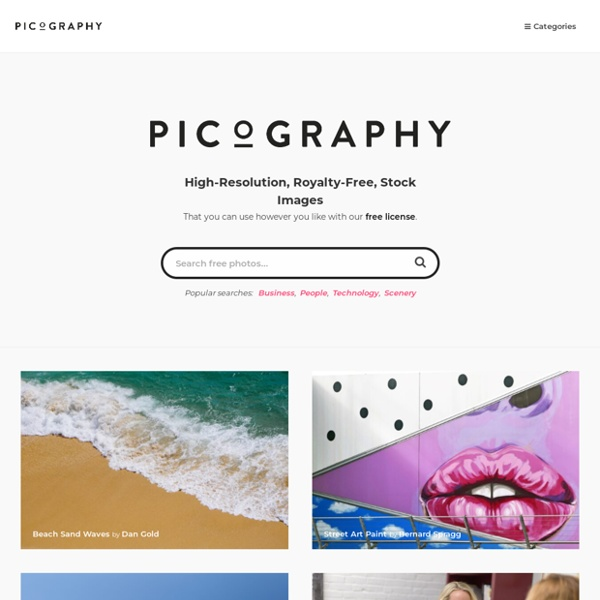 Picography - Use however you like