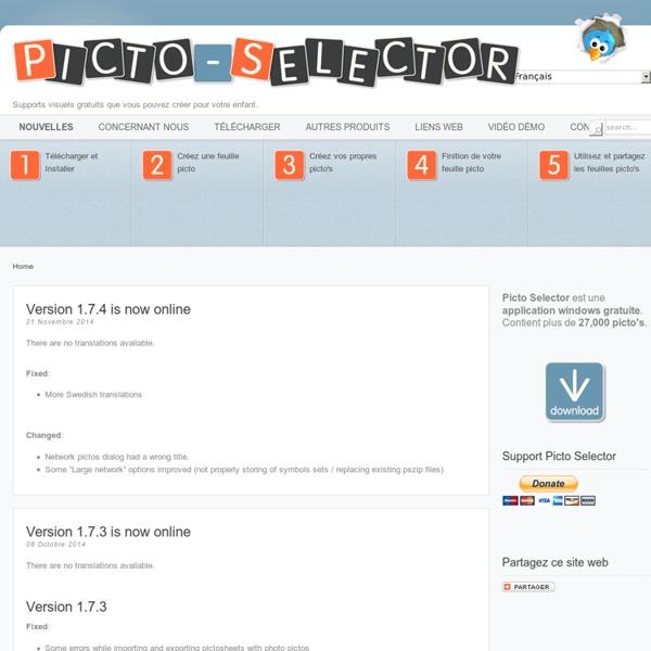 Picto Selector