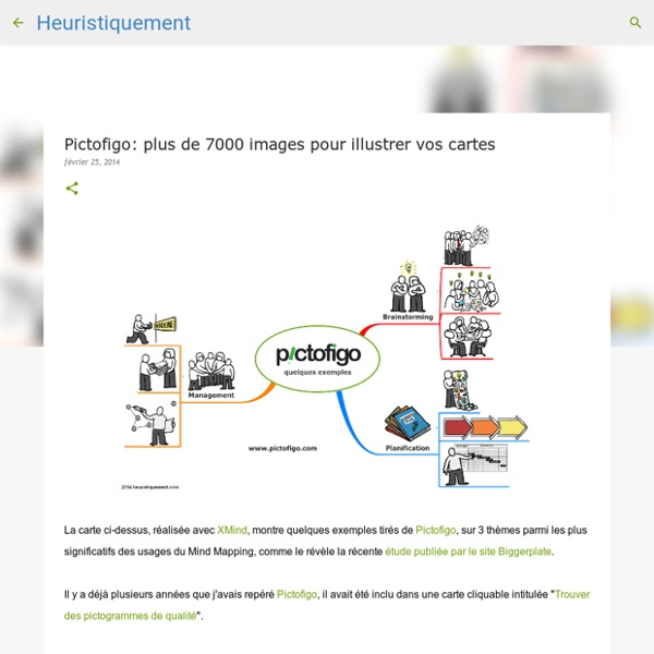 Pictofigo: plus de 7000 images pour illustrer vos cartes