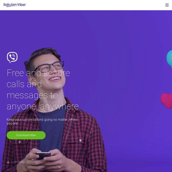 Viber - Free calls, Free text messages, photo and location sharing