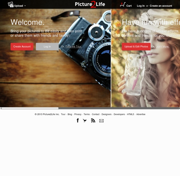 Edit Photos, Create Collages, Create Animations, Share Photos/Pictures Online FREE