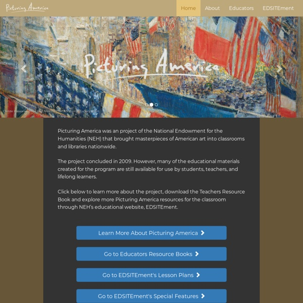 Picturing America Home Page