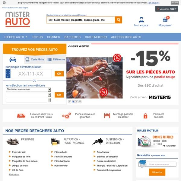 PIECES AUTO Pas Cher sur Internet – Vos Pieces detachees Auto ici !