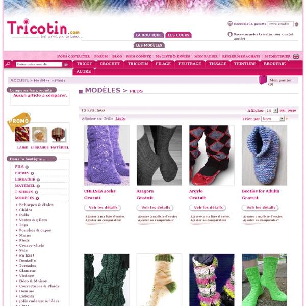 Modèles Tricotin