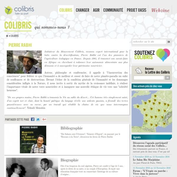Le mouvement des Colibris