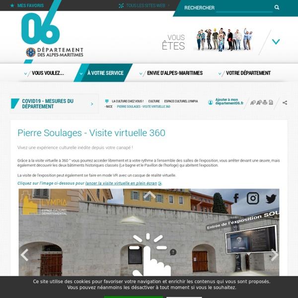 Pierre Soulages - Visite virtuelle 360
