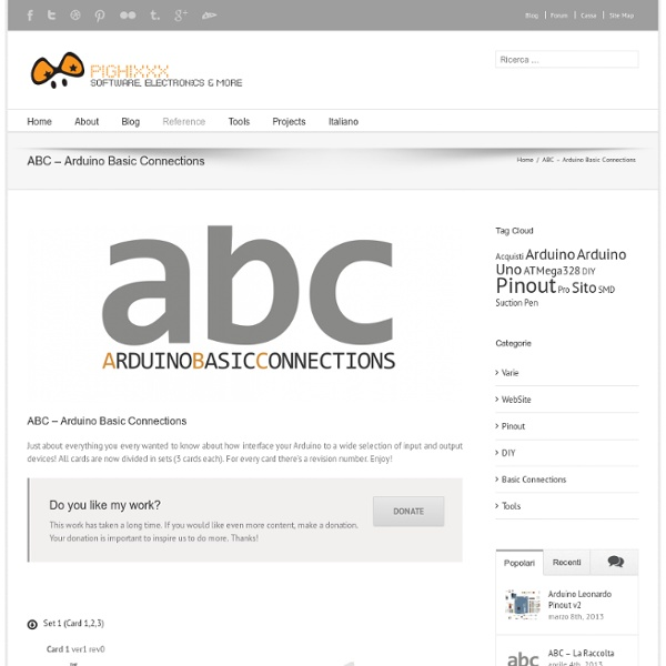 ABC - Arduino Basic Connections - PighiXXX