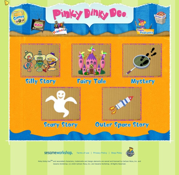 Pinky Dinky Doo - Games - Your Story Box