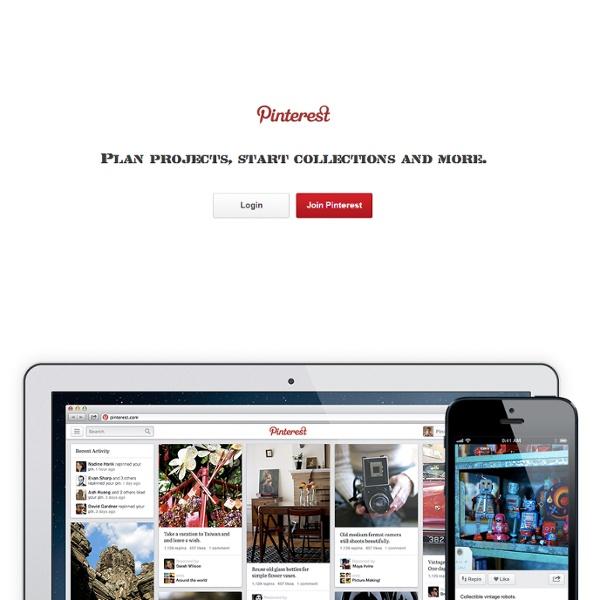 Pinterest - Tableau virtuel