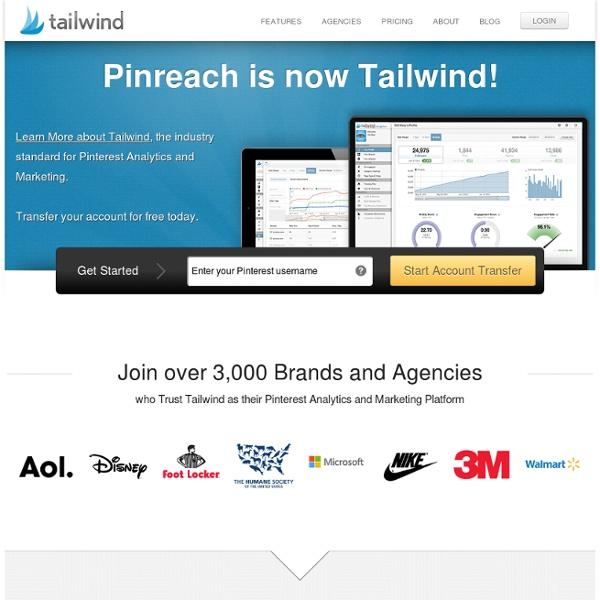 PinReach - Pinterest Analytics and Marketing