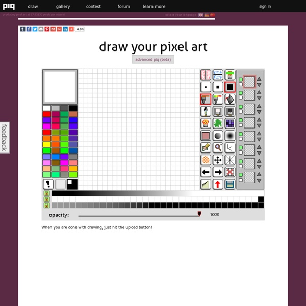 Pixel Art Online Draw Images