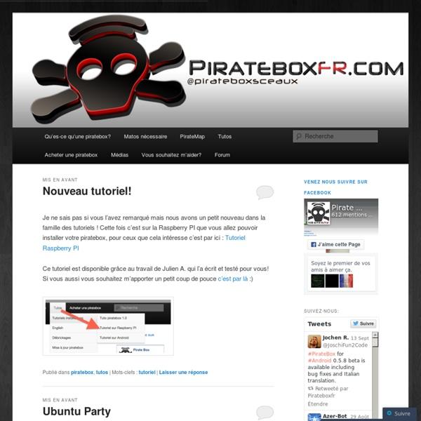 Le site des piratebox françaises