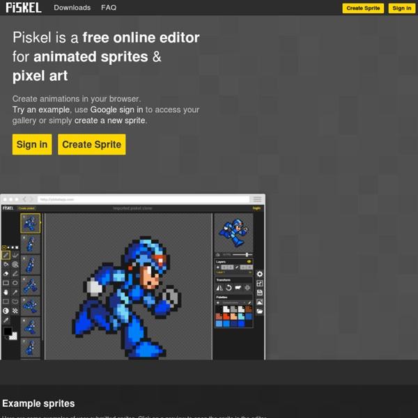 Piskel - Free online sprite editor