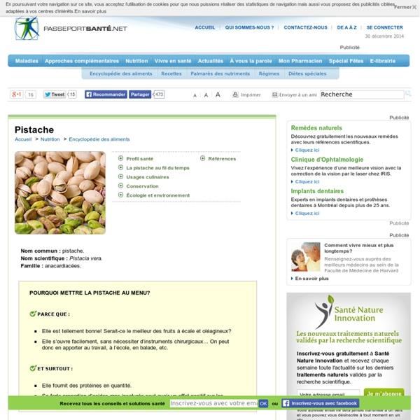 La pistache pour faire baisser le taux de cholestérol
