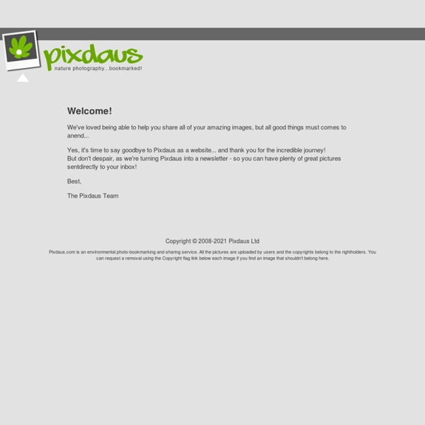 Pixdaus, page 1 of nature photography site photos.URL